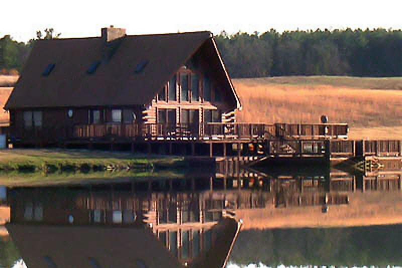 Log Cabin at Moree's Preserve