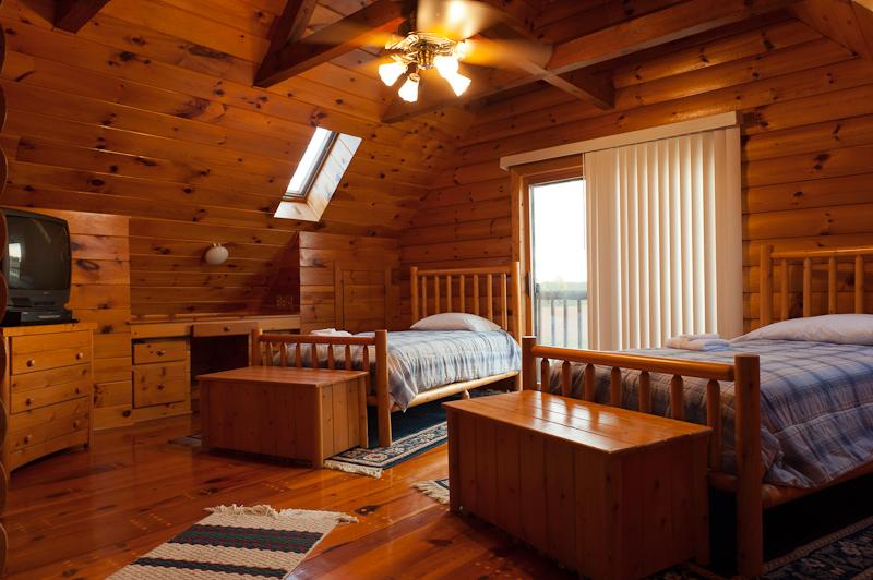 Moree's Sportsman's Preserve Log Cabin