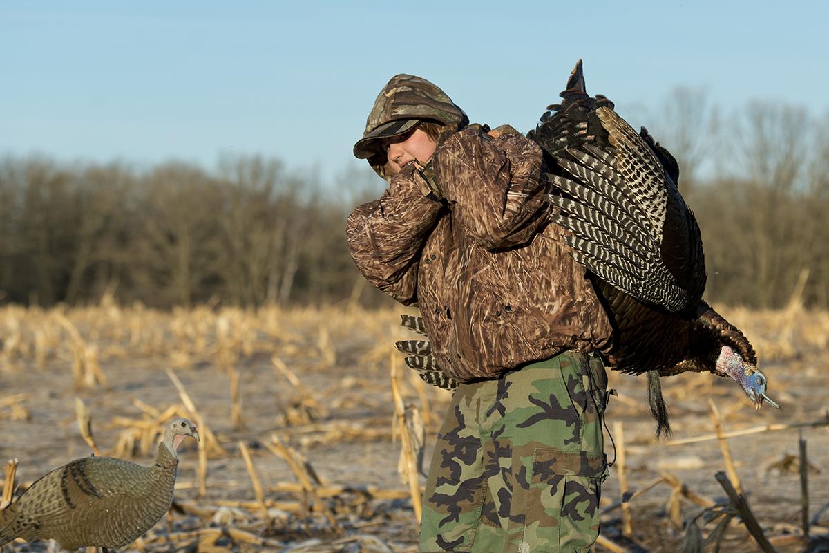 Moree's Preserve Wild Turkey Hunting